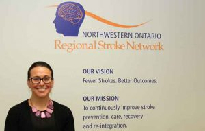 Meaghan Sharp, Director of the Cardiovascular and Stroke Program.