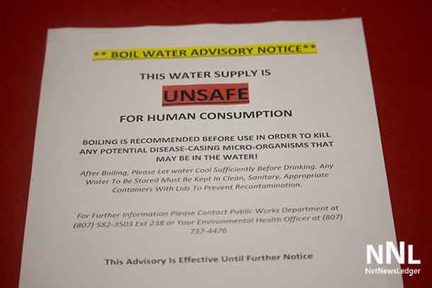 Lac Seul First Nation has been under a boil water order for over twenty years.