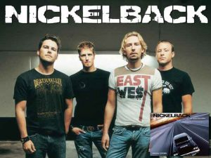 Iconic Nickleback Canadian Rockers
