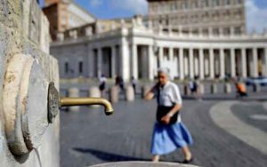 The Vatican is turning off fountains as the region struggles under a growing water shortage