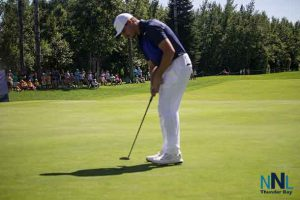 Camarillo, California's Johnny Ruiz shot a final round 5-under 67 on Sunday at Whitewater Golf Club to come from behind and win the Staal Foundation Open presented by Tbaytel for his first Mackenzie Tour – PGA TOUR Canada win.