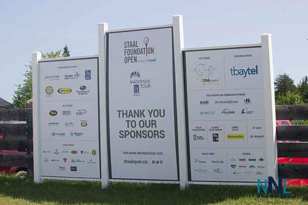 The corporate support for the Staal Foundation Open Makes the event work too