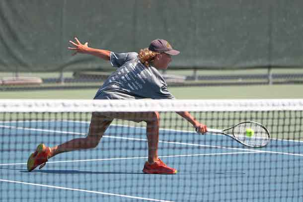 Action Continues at the Thunder Bay Tennis Club for the Mid Canada  - Photo by Guy Gascoigne