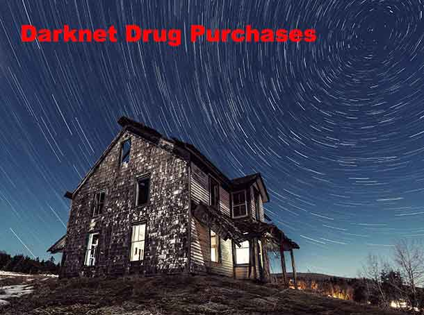 Drug dealers and customers on the Darknet
