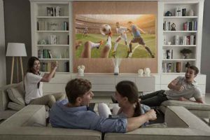 LG ProBeam Projector transforms your living space