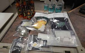 Drugs and alcohol seized by RCMP