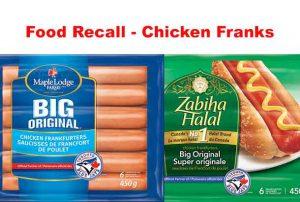 Maple Lodge Farms Chicken Frankfurters - Food Recall