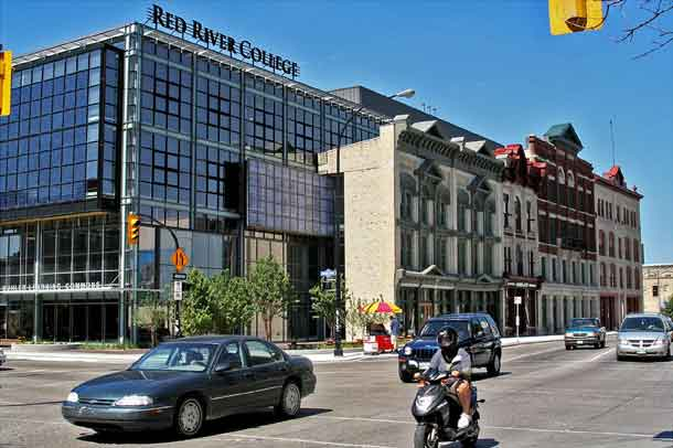 Red River College in Winnipeg