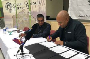 Agreement Signed between Ontario and Grand Council Treaty Three