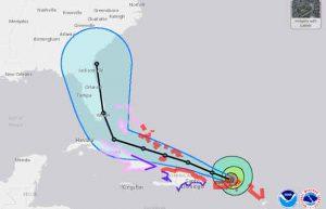 Hurricane Irma Tracking - NOAA - National Hurricane Centre