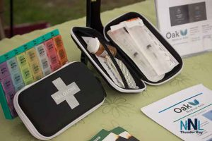 The Naloxone Kit is a key component for dealing with an overdose. You can get a free kit at almost any pharmacy