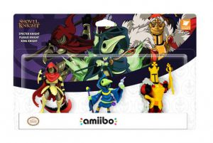 By tapping three new amiibo figures* based on King Knight, Plague Knight and Specter Knight while playing Shovel Knight, players can unlock exclusive armor sets, new challenge stages and the ability to summon fairy companions to accompany players on quests.