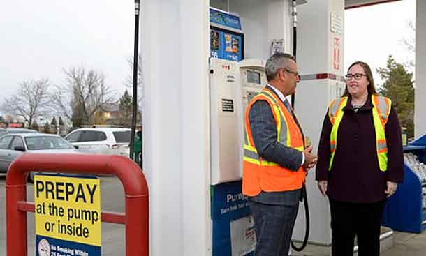 Alberta has proposed new legislation for gas bars and convenience stores.