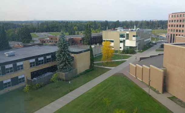 Lakehead University Campus in Thunder Bay