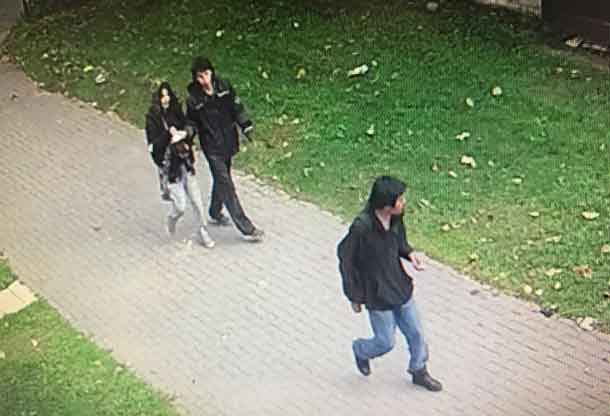 Thunder Bay Police Service have provided these images of the persons suspected of a serious assault in Limbrick