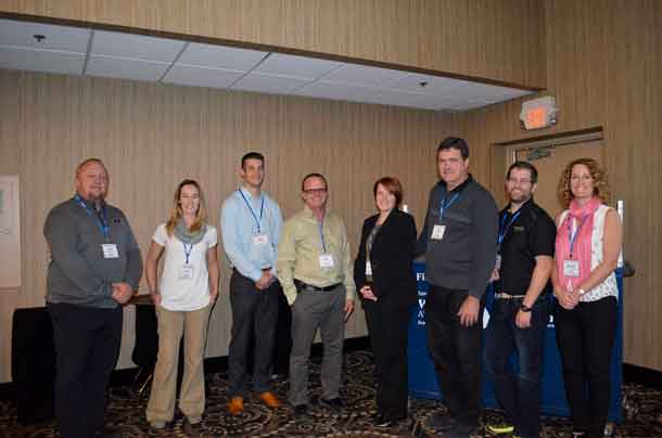 Sonny Randle – EMCO, Shelby Jaspers – City of Thunder Bay's Training & Quality Assurance Coordinator, Matthew Miedema – City of Thunder Bay's Project Engineer and Chair – Northwestern Ontario Water & Wastewater Conference, Tony Santos – City of Thunder Bay's Supervisor – Municipal Drinking Water Licensing Program, Erin Marcella-Fui – City of Thunder Bay's Operations Supervisor – Bare Point Water Treatment Plant, Henry Connor – City of Thunder Bay's Technology Management Specialist, Aaron Ward – City of Thunder Bay's Project Engineer, Michelle Warywoda – City of Thunder Bay's Director of Environment.