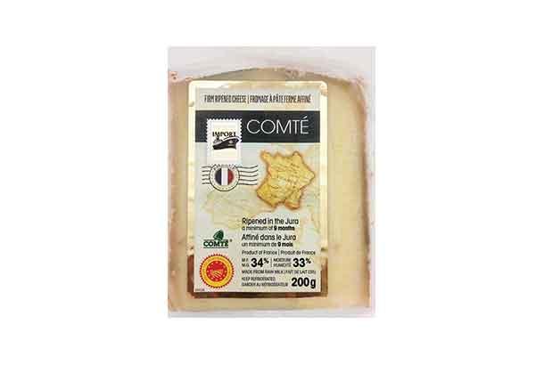 Comté cheese has been recalled nationally