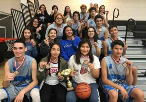 Treaty Three Boys and Girls Basketball Team