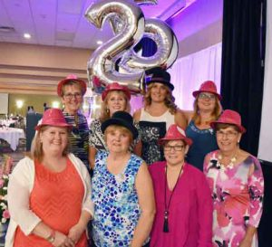 The Tbaytel Luncheon of Hope celebrated its 25th anniversary this year, raising $32,688.45 for the Northern Cancer Fund to support breast cancer diagnosis, treatment, education and research. Pictured here are members of the event's Organizing Committee, who work tirelessly every year to bring this event to life.