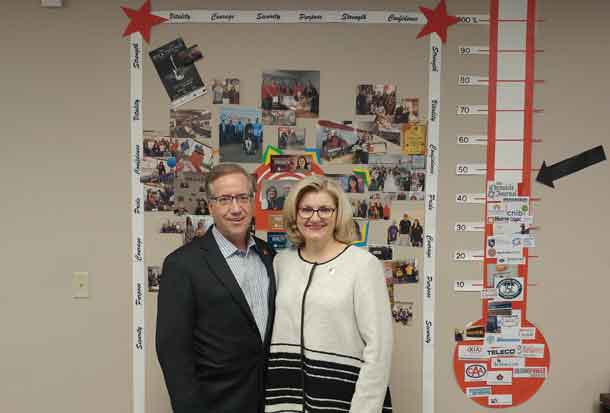 The United Way of Thunder Bay is at the mid-point of the campaign for 2017