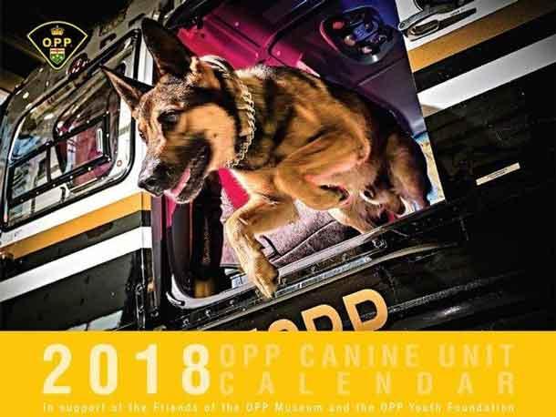 Kenora OPP have their calendar on sale now