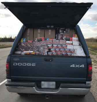 RCMP in Manitoba have seized contraband liquor and tobacco as part of an ongoing investigation