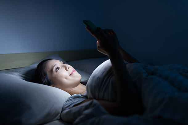 Smartphone and screen use and sleep are not a great combination for teens and children.