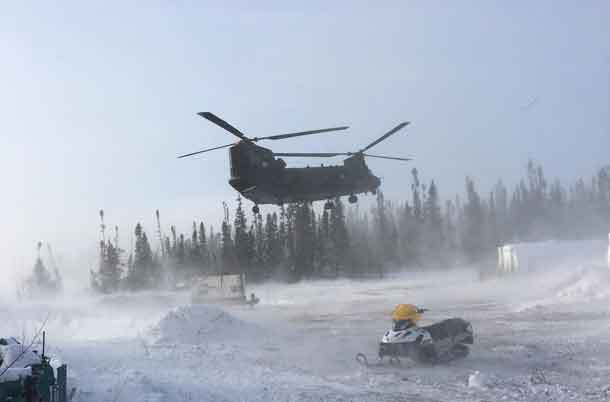 Chinook Helicopter - CAF Image