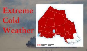 Extreme Cold Warnings in effect for Christmas Day and likely into the week