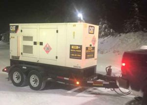 A Generator is enroute