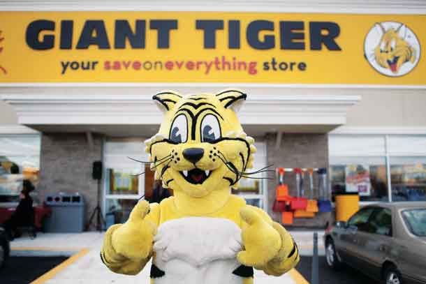 Friendly, the Giant Tiger (Giant Tiger Stores Limited)
