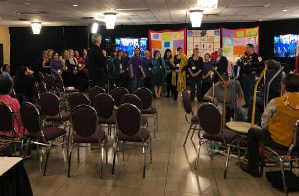 Helpers and assistance at the MMIWG National Inquiry Hearings in Thunder Bay
