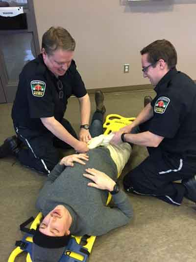 Superior EMS Paramedics are training to do a better job.