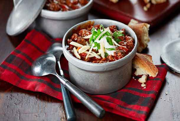 Venison Chili - a new take on a traditional meat.