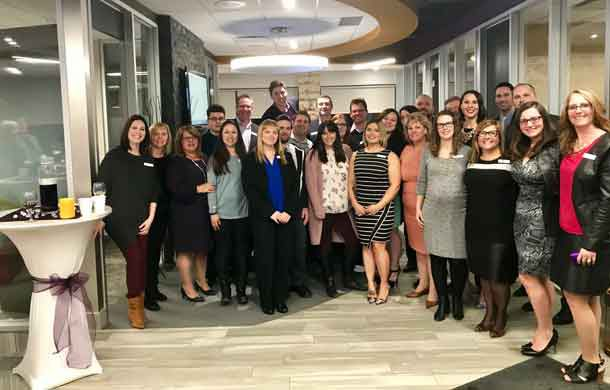 Copperfin Staff at the new Harbour Branch