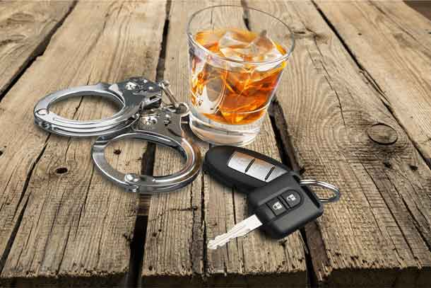 Police keep expressing that if one drinks and drives they will be caught. Photo - DepositPhotos.com