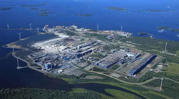 Ferrochrome Plant in Finland