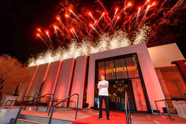 Gordon Ramsey's new Hell's Kitchen is the award winning chef's fifth restaurant in Las Vegas