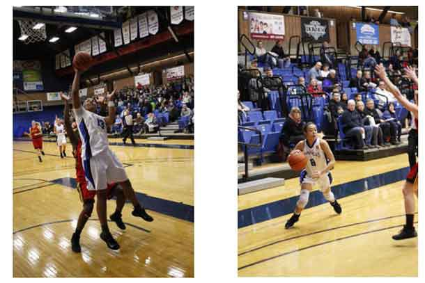 The Thunderwolves Women topped Guelph in basketball action