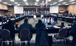 Chiefs from NAN territory across much of Northwestern Ontario are gathered in Thunder Bay today through Thursday