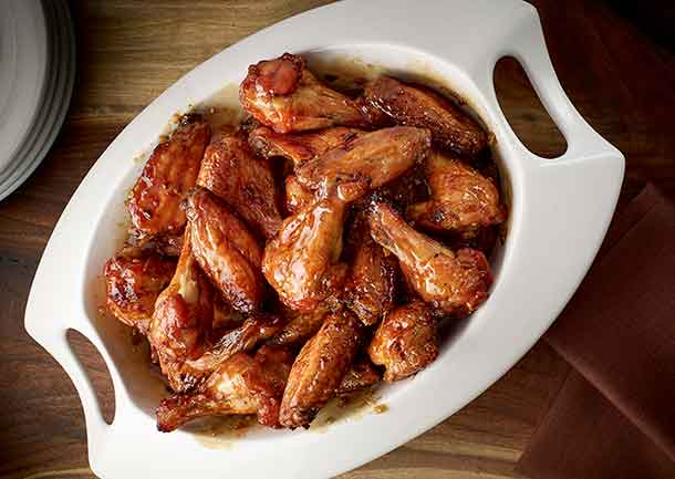 Maple Garlic Chicken Wings - Foodland Ontario
