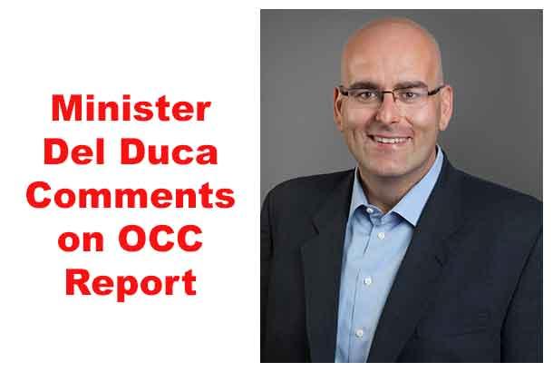 Minister Del Duca