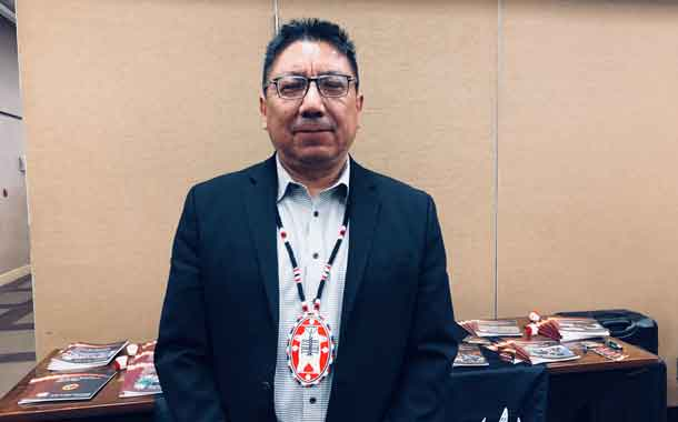 Nishnawbe Aski Grand Chief Alvin Fiddler - NAN Winter Chief's Assembly