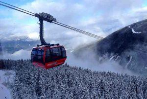 Peak 2 Peak is the longest free-span ski lift in the world