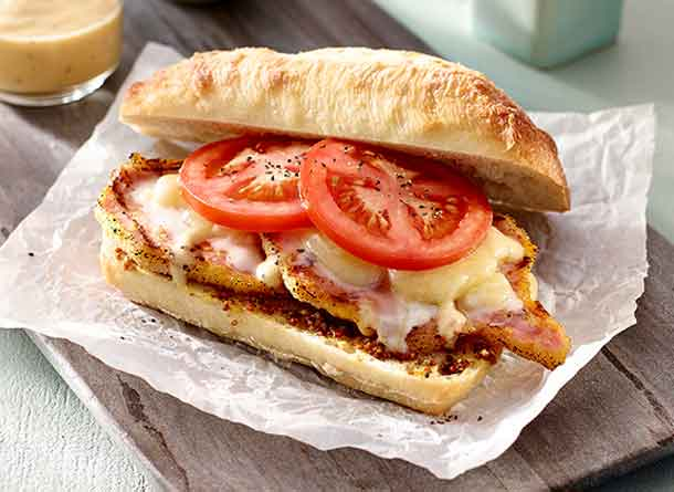 Peameal Bacon Sandwiches - Image Foodland Ontario