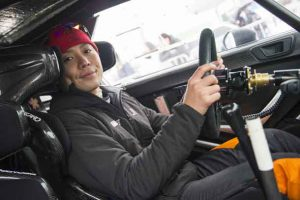 Takamoto Katsuta (JPN) seen during FIA World Rally Championship 2018 in Torsby, Sweden on 18.02.2018 // Jaanus Ree/Red Bull Content Pool //