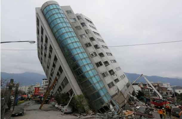 Taiwan natural disaster toll rises, with many missing