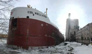 M.V. CSL Welland docked