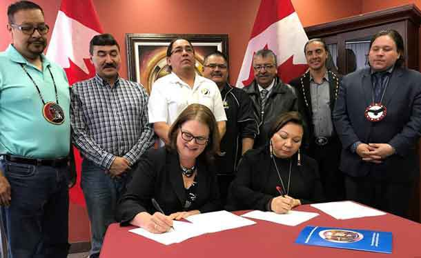 MKO and Canada sign agreement today in Treaty One Territory