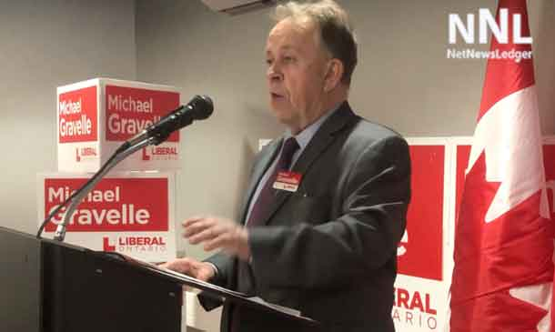 Minister Michael Gravelle looks forward to a hard-fought campaign and June 7th's election